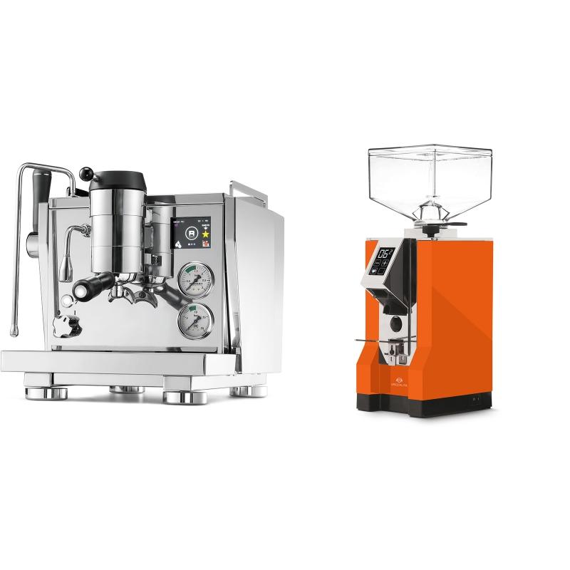Rocket Espresso R NINE ONE + Eureka Mignon Specialita, CR orange