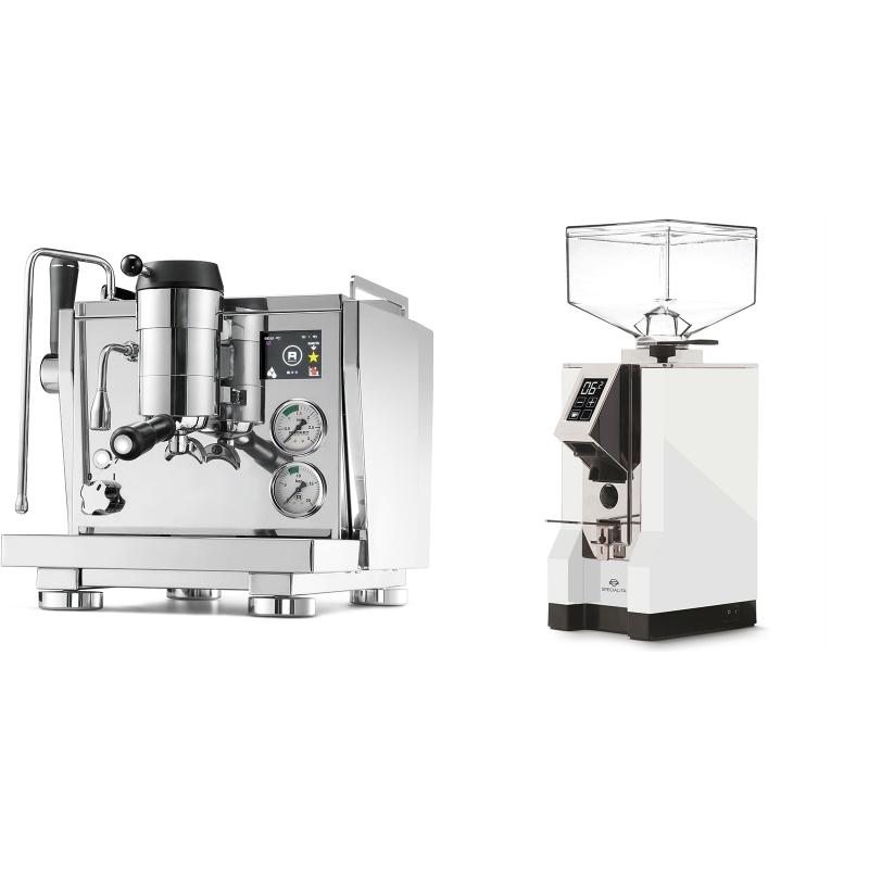 Rocket Espresso R NINE ONE + Eureka Mignon Specialita, CR white