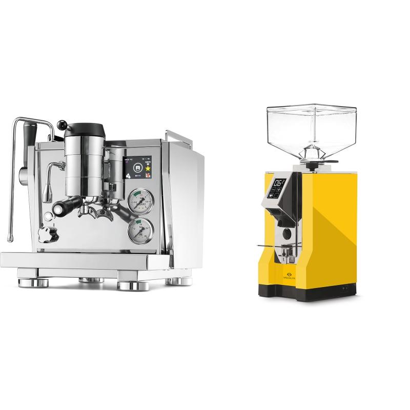 Rocket Espresso R NINE ONE + Eureka Mignon Specialita, CR yellow