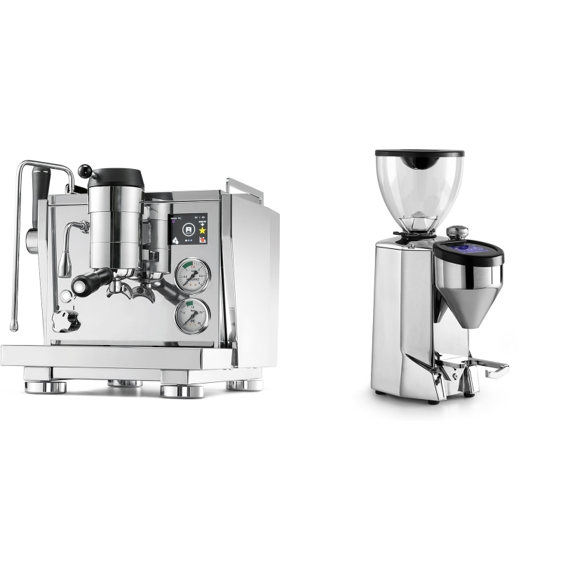 Rocket Espresso R NINE ONE + Rocket Espresso FAUSTO 2.1, chrome