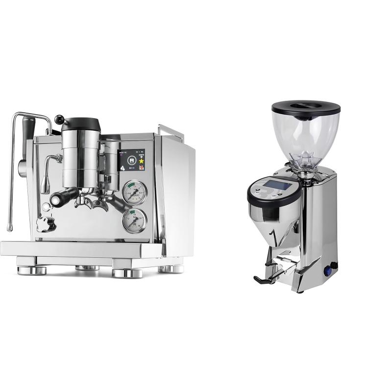 Rocket Espresso R NINE ONE + Rocket Espresso FAUSTO, nerez
