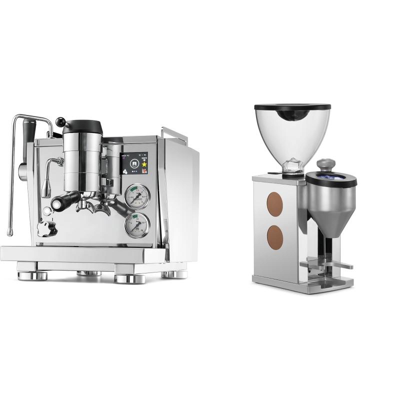 Rocket Espresso R NINE ONE + Rocket Espresso FAUSTINO, copper
