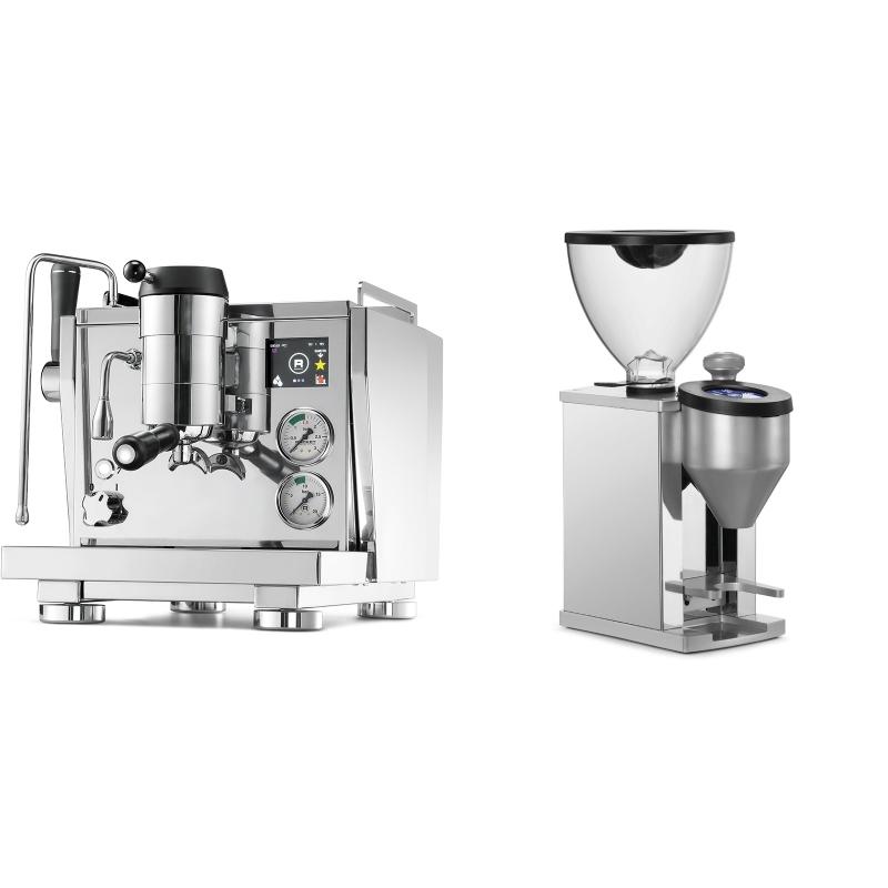 Rocket Espresso R NINE ONE + Rocket Espresso FAUSTINO, chrome