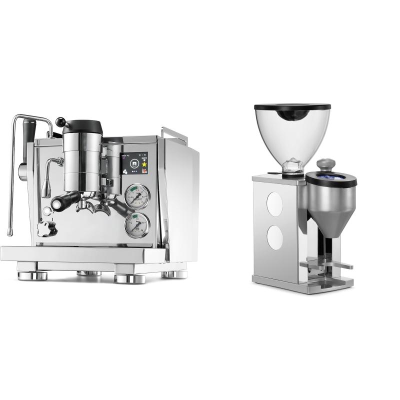 Rocket Espresso R NINE ONE + Rocket Espresso FAUSTINO, white