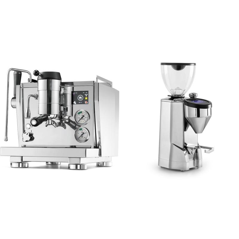 Rocket Espresso R NINE ONE + Rocket Espresso SUPER FAUSTO, chrome