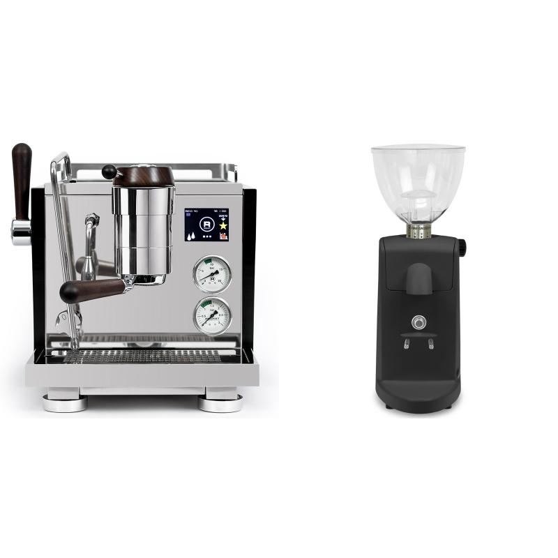 Rocket Espresso R NINE ONE Edizione Speciale + Ascaso i-mini i1, černá