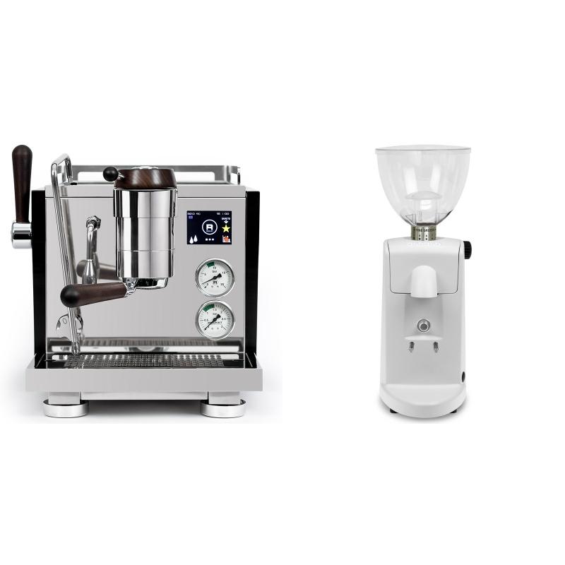 Rocket Espresso R NINE ONE Edizione Speciale + Ascaso i-mini i1, bílá