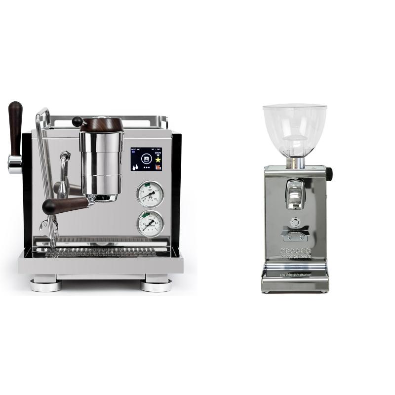 Rocket Espresso R NINE ONE Edizione Speciale + Ascaso i-steel, lesk