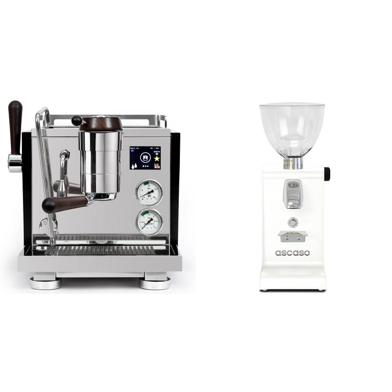 Rocket Espresso R NINE ONE Edizione Speciale + Ascaso i-steel, bílá