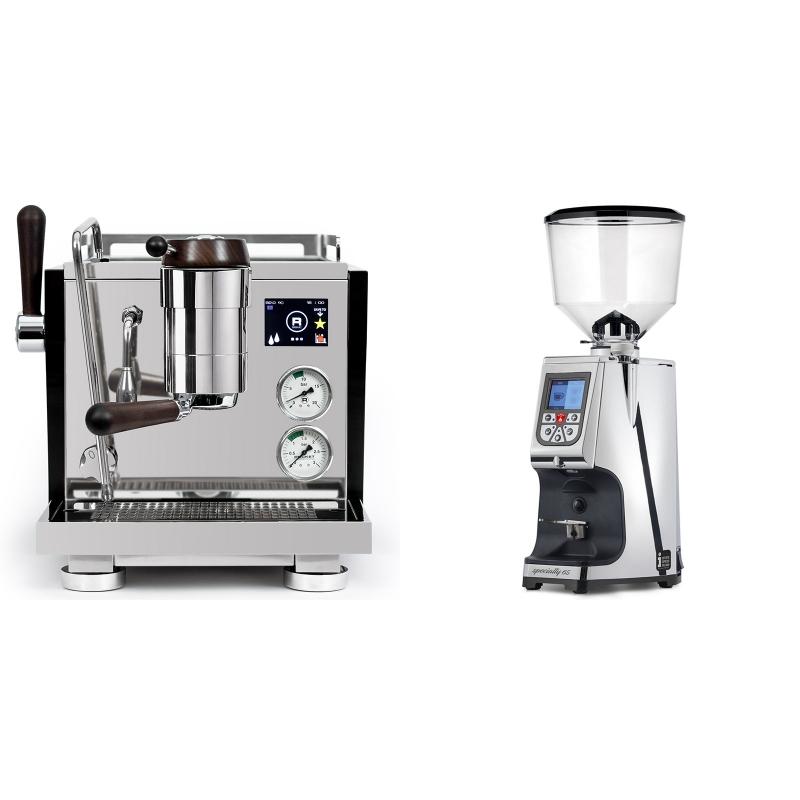 Rocket Espresso R NINE ONE Edizione Speciale + Eureka Atom Specialty 65, chrome