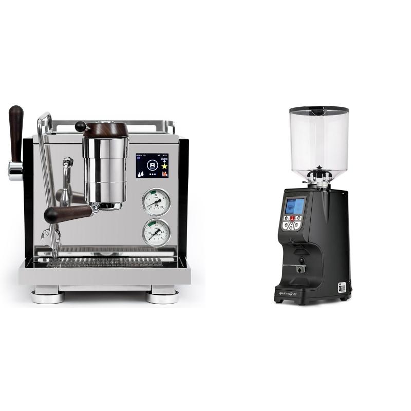 Rocket Espresso R NINE ONE Edizione Speciale + Eureka Atom Specialty 75, black