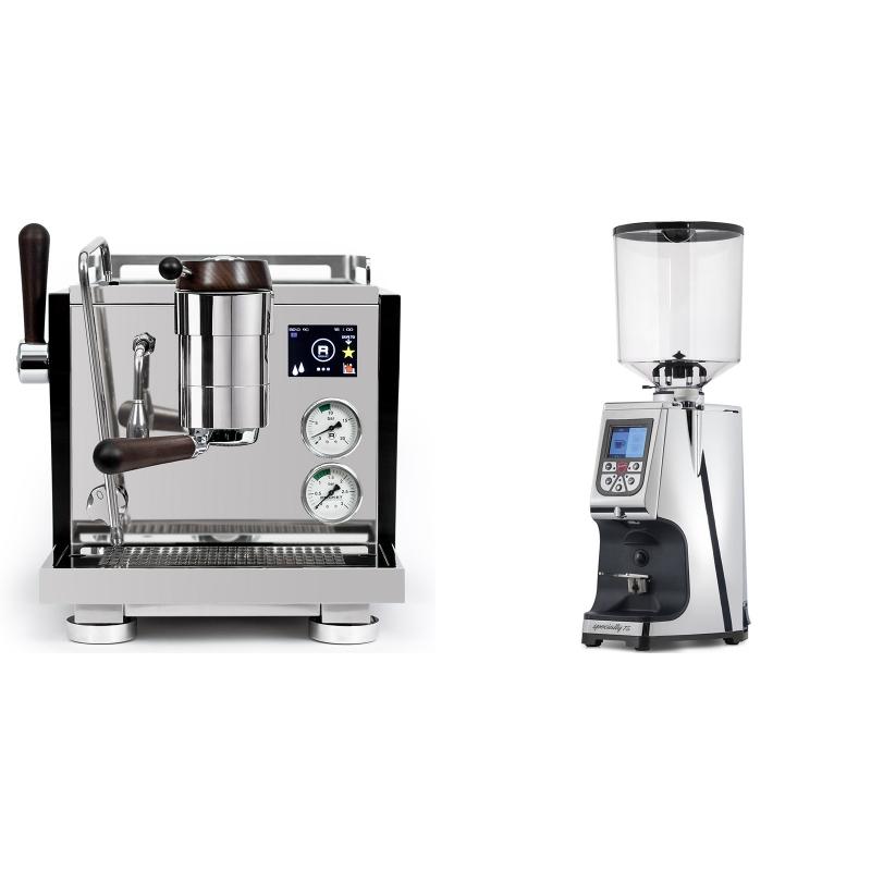 Rocket Espresso R NINE ONE Edizione Speciale + Eureka Atom Specialty 75, chrome
