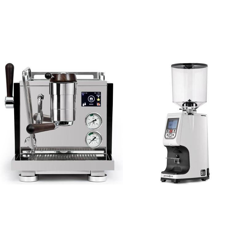Rocket Espresso R NINE ONE Edizione Speciale + Eureka Atom Specialty 75, white