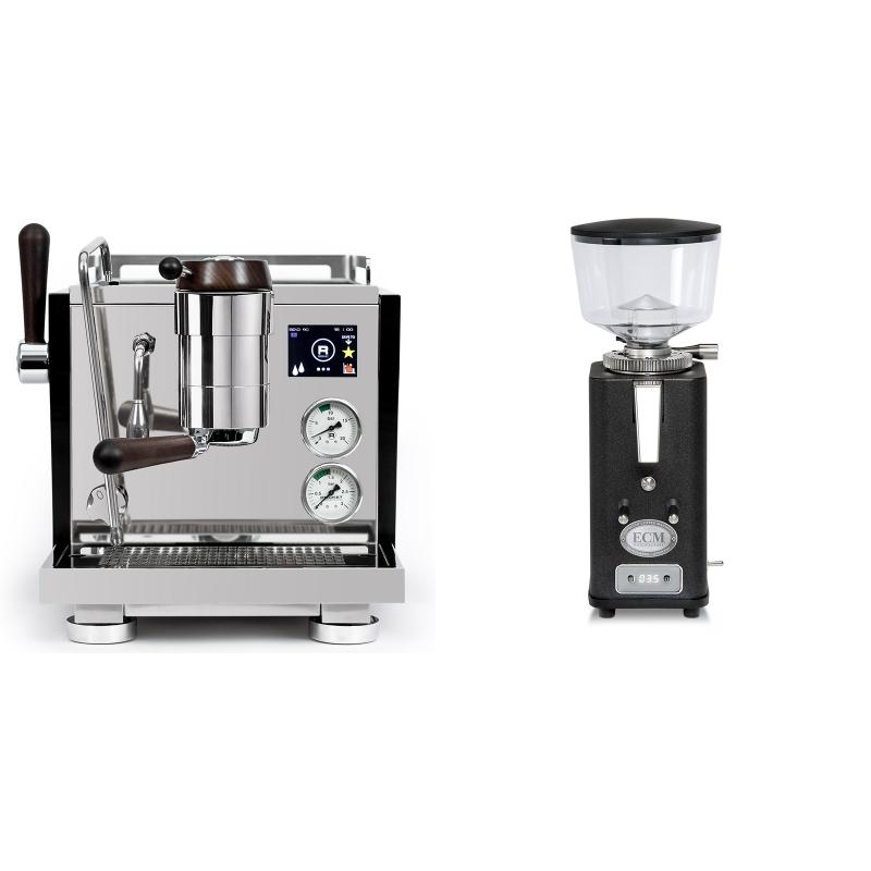 Rocket Espresso R NINE ONE Edizione Speciale + ECM S-Automatik 64, anthracite