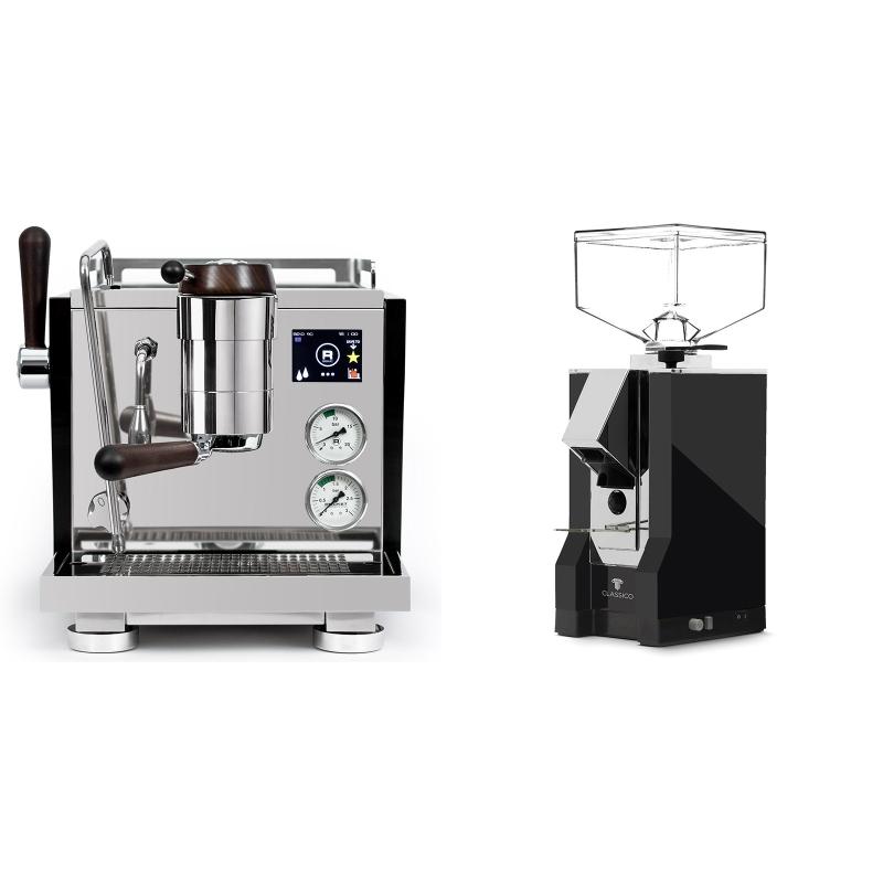 Rocket Espresso R NINE ONE Edizione Speciale + Eureka Mignon Classico, CR black