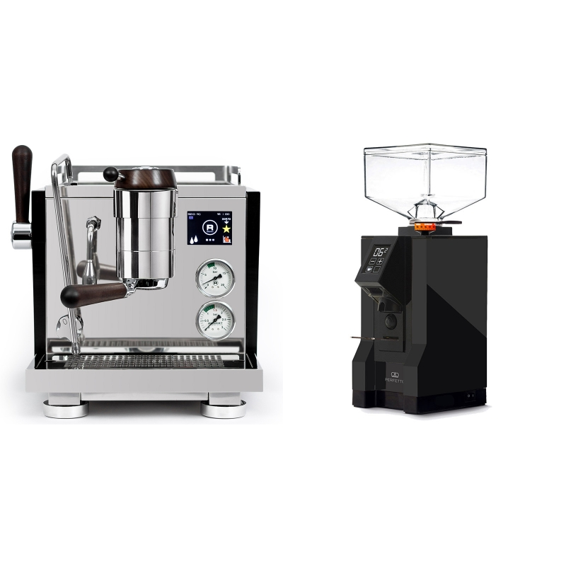 Rocket Espresso R NINE ONE Edizione Speciale + Eureka Mignon Perfetto, BL black