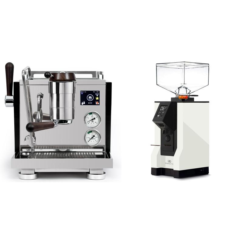 Rocket Espresso R NINE ONE Edizione Speciale + Eureka Mignon Perfetto, BL white