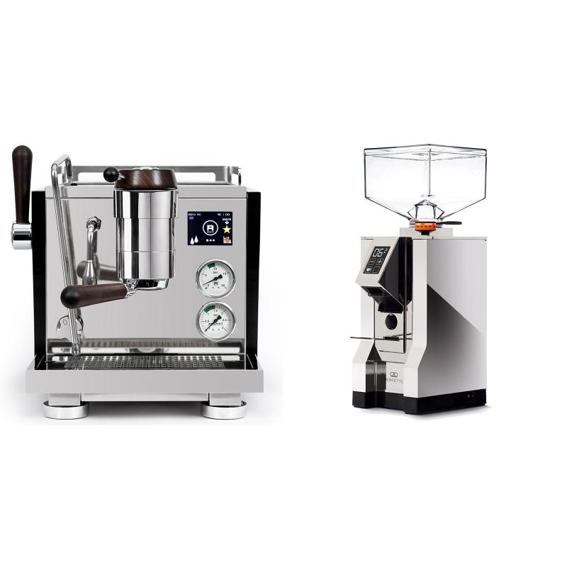 Rocket Espresso R NINE ONE Edizione Speciale + Eureka Mignon Perfetto, CR chrome