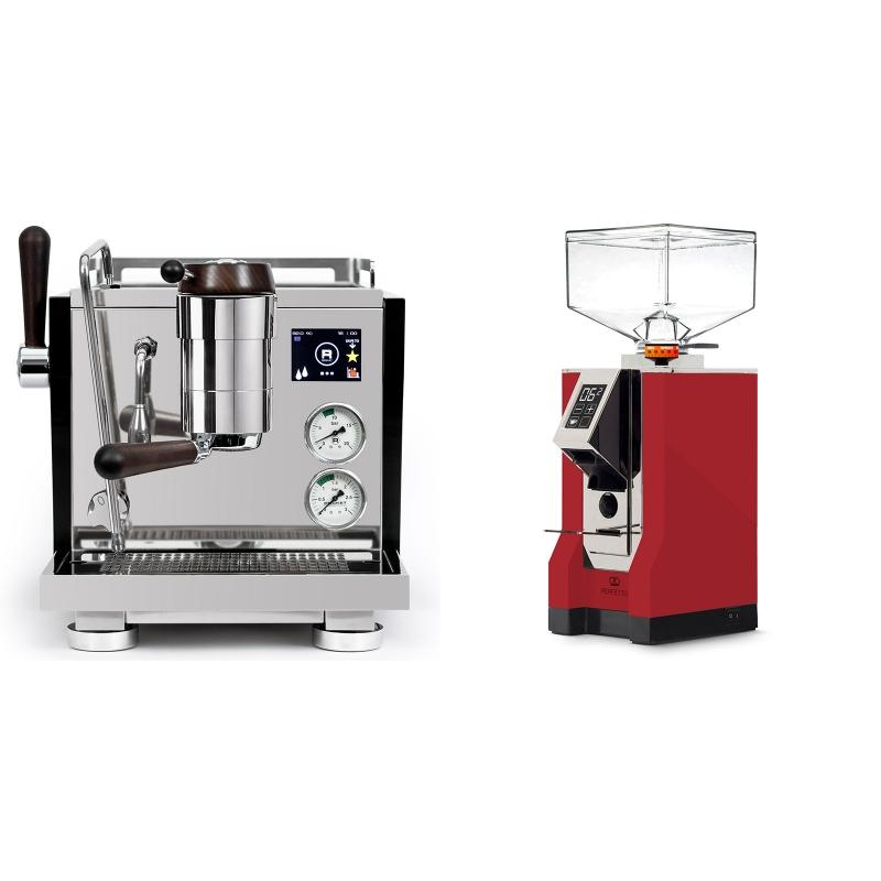 Rocket Espresso R NINE ONE Edizione Speciale + Eureka Mignon Perfetto, CR ferrari red