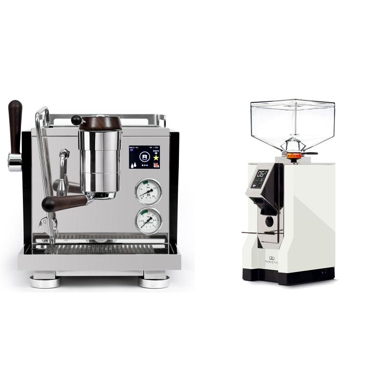 Rocket Espresso R NINE ONE Edizione Speciale + Eureka Mignon Perfetto, CR white