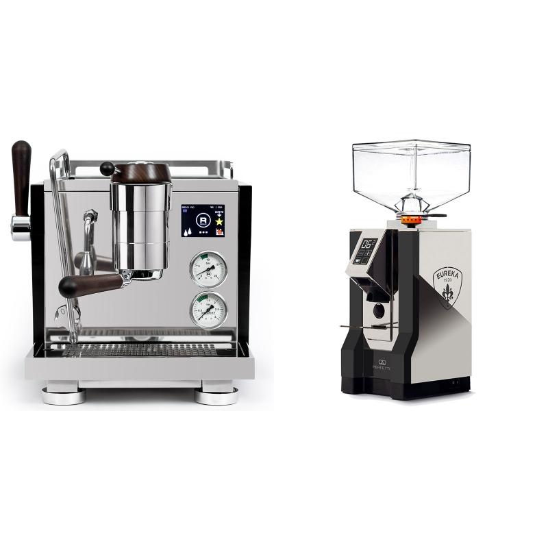 Rocket Espresso R NINE ONE Edizione Speciale + Eureka Mignon Perfetto, NX black