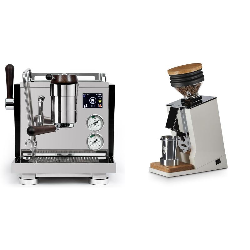 Rocket Espresso R NINE ONE Edizione Speciale + Eureka Mignon Single Dose, White & Oak