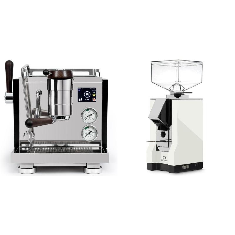Rocket Espresso R NINE ONE Edizione Speciale + Eureka Mignon Silenzio, CR white