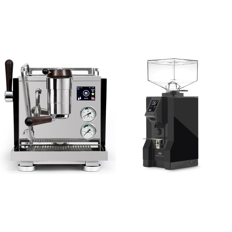Rocket Espresso R NINE ONE Edizione Speciale + Eureka Mignon Specialita, BL black