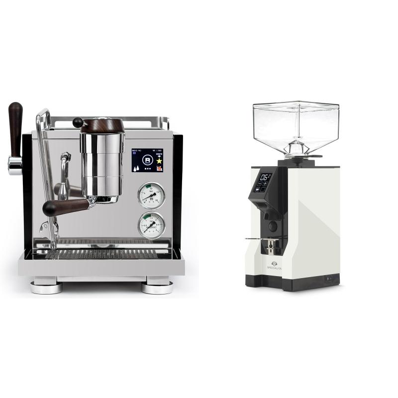 Rocket Espresso R NINE ONE Edizione Speciale + Eureka Mignon Specialita, BL white