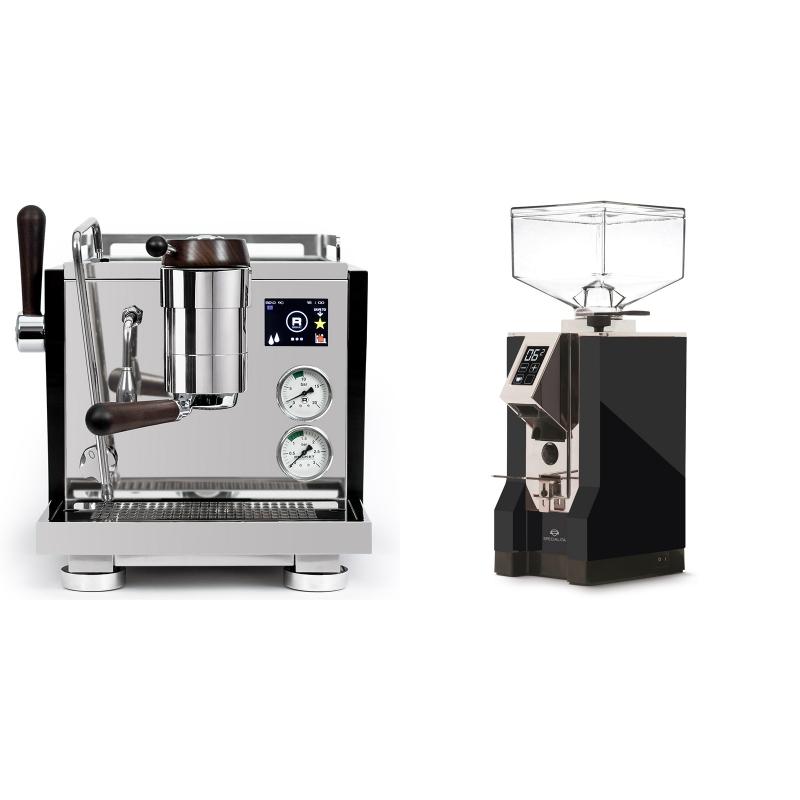 Rocket Espresso R NINE ONE Edizione Speciale + Eureka Mignon Specialita, CR black