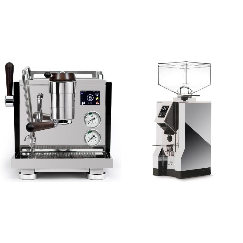 Rocket Espresso R NINE ONE Edizione Speciale + Eureka Mignon Specialita, CR chrome