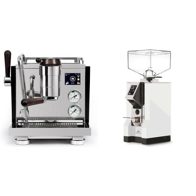 Rocket Espresso R NINE ONE Edizione Speciale + Eureka Mignon Specialita, CR white