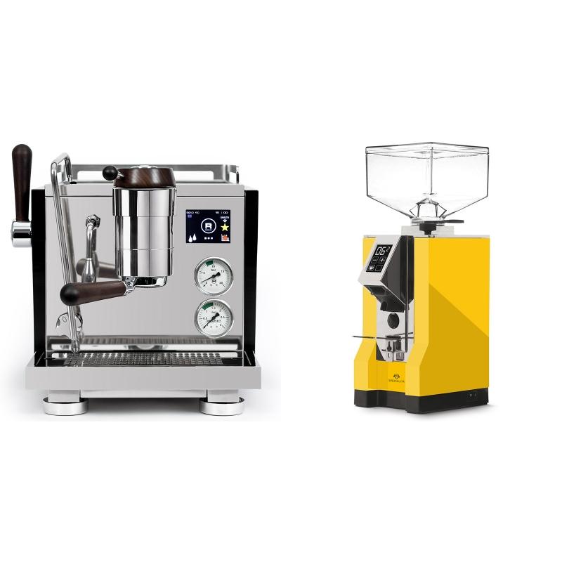 Rocket Espresso R NINE ONE Edizione Speciale + Eureka Mignon Specialita, CR yellow
