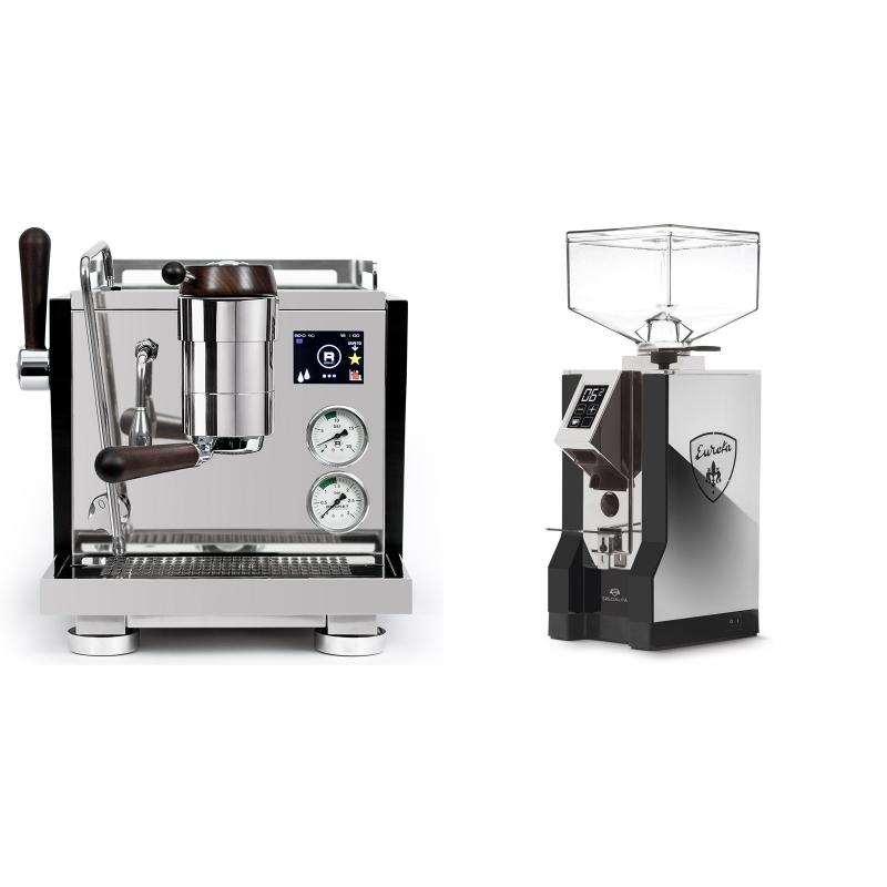 Rocket Espresso R NINE ONE Edizione Speciale + Eureka Mignon Specialita, NX black
