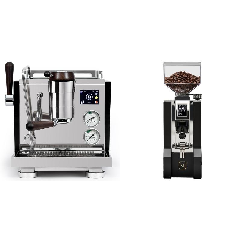 Rocket Espresso R NINE ONE Edizione Speciale + Eureka Mignon XL, CR black