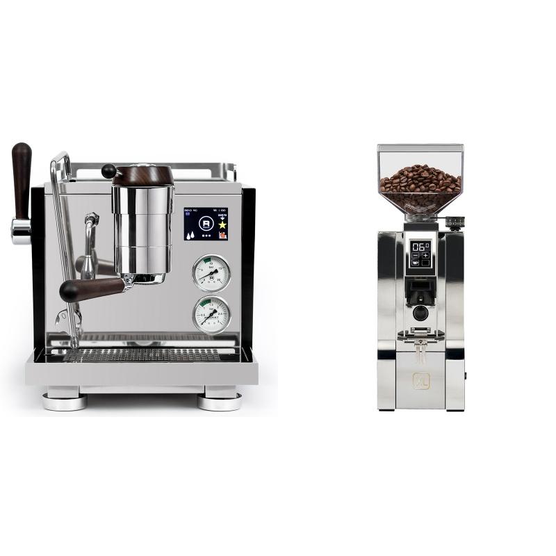 Rocket Espresso R NINE ONE Edizione Speciale + Eureka Mignon XL, CR chrome