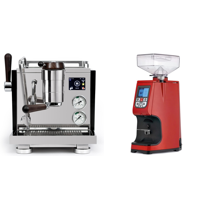 Rocket Espresso R NINE ONE Edizione Speciale + Eureka Atom 60, ferrari red