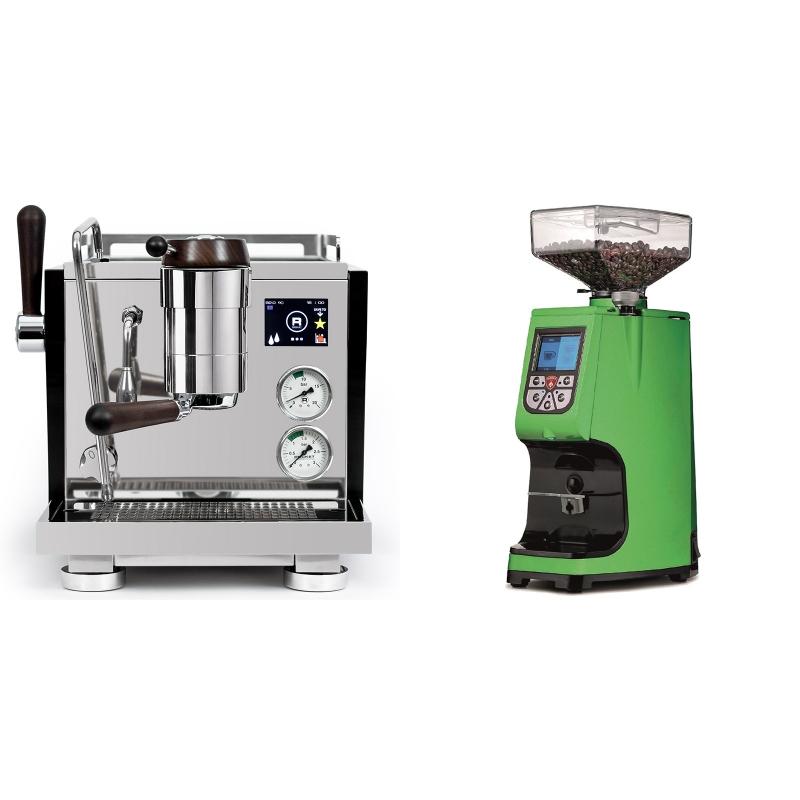 Rocket Espresso R NINE ONE Edizione Speciale + Eureka Atom 60, kawasaki green