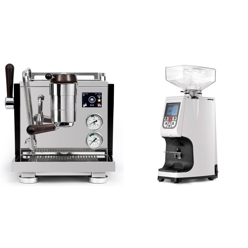 Rocket Espresso R NINE ONE Edizione Speciale + Eureka Atom 60, white