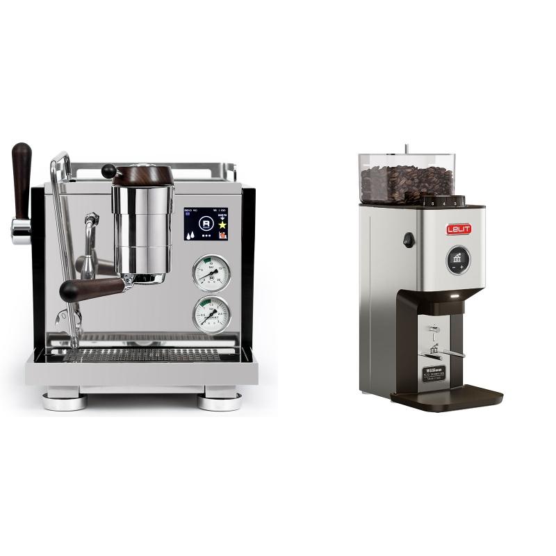 Rocket Espresso R NINE ONE Edizione Speciale + Lelit William PL72