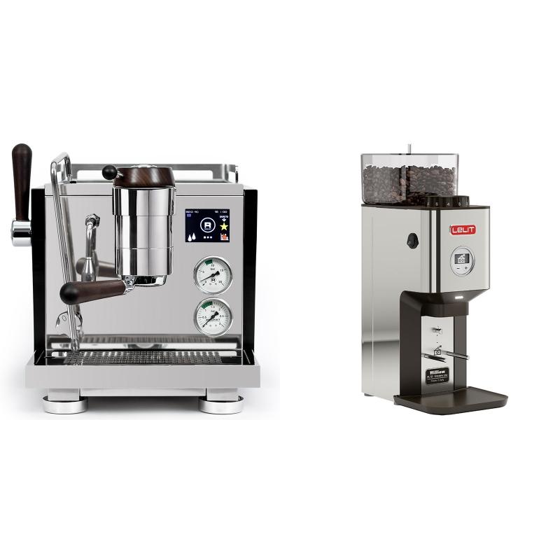Rocket Espresso R NINE ONE Edizione Speciale + Lelit William PL72-P
