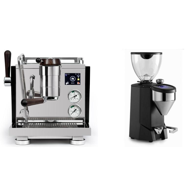 Rocket Espresso R NINE ONE Edizione Speciale + Rocket Espresso FAUSTO 2.1, black