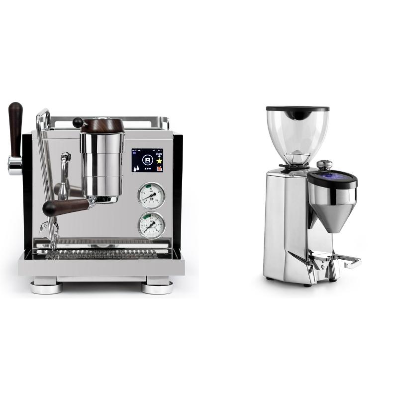 Rocket Espresso R NINE ONE Edizione Speciale + Rocket Espresso FAUSTO 2.1, chrome
