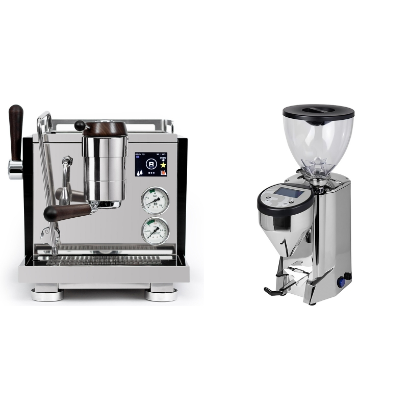 Rocket Espresso R NINE ONE Edizione Speciale + Rocket Espresso FAUSTO, chrome