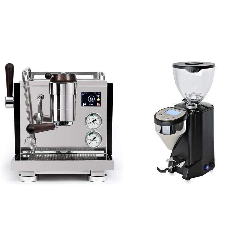 Rocket Espresso R NINE ONE Edizione Speciale + Rocket Espresso FAUSTO, black