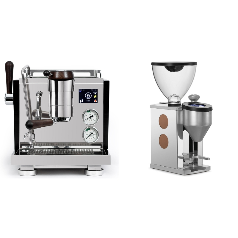 Rocket Espresso R NINE ONE Edizione Speciale + Rocket Espresso FAUSTINO, copper