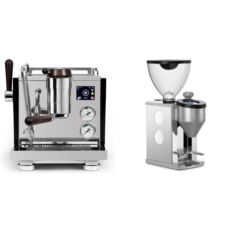 Rocket Espresso R NINE ONE Edizione Speciale + Rocket Espresso FAUSTINO, white