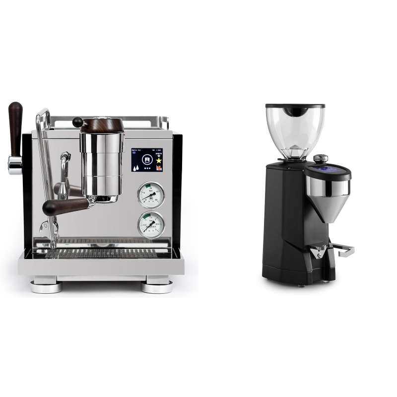 Rocket Espresso R NINE ONE Edizione Speciale + Rocket Espresso SUPER FAUSTO, black