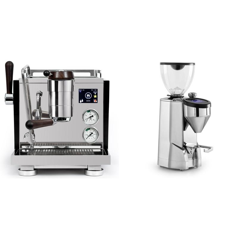 Rocket Espresso R NINE ONE Edizione Speciale + Rocket Espresso SUPER FAUSTO, chrome