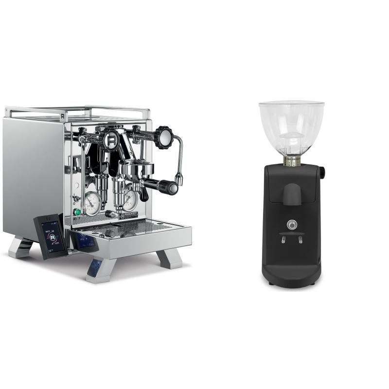 Rocket Espresso R 58 Cinquantotto + Ascaso i-mini i1, černá